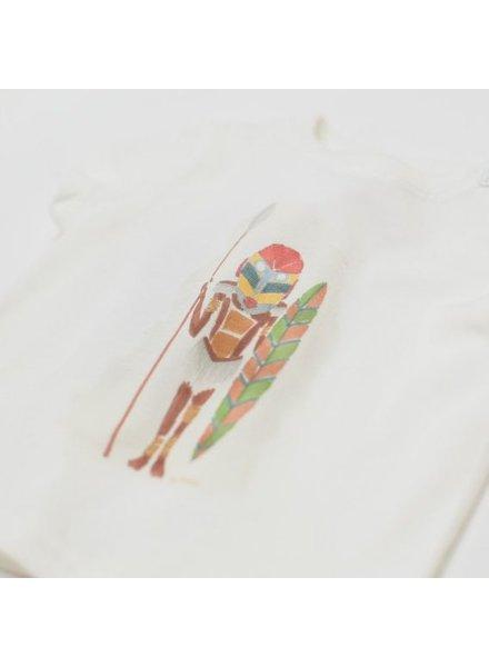 Arsene et les Pipelettes Tee-shirt blanc Maasaï - Phili