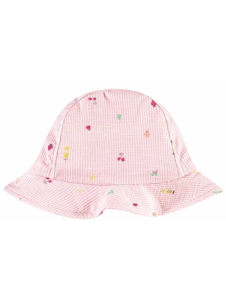 Noppies Hat Shelby aop - Sachet Pink