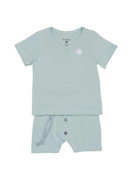 Koeka Cloud pyjamas short sapphire - Maat 86/92 & 98/104