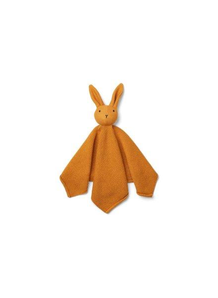 Liewood Milo Knit Cuddle Cloth - Rabbit Mustard