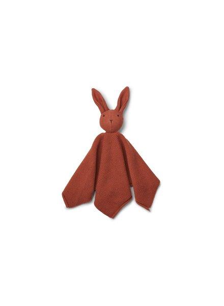 Liewood Milo Knit Cuddle Cloth - Rabbit Rusty