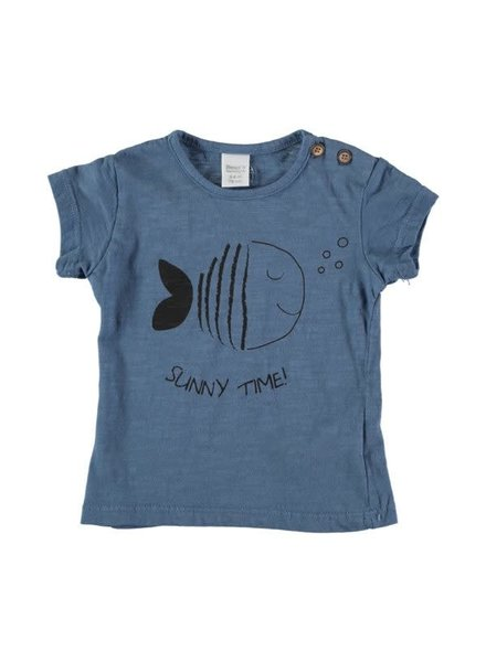 Beans Altea - Print T-shirt - Blue