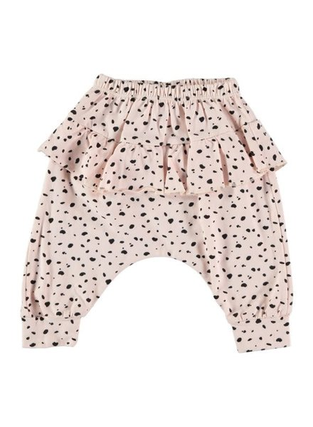 Beans Rodas - Printed Girl Pants - Pink