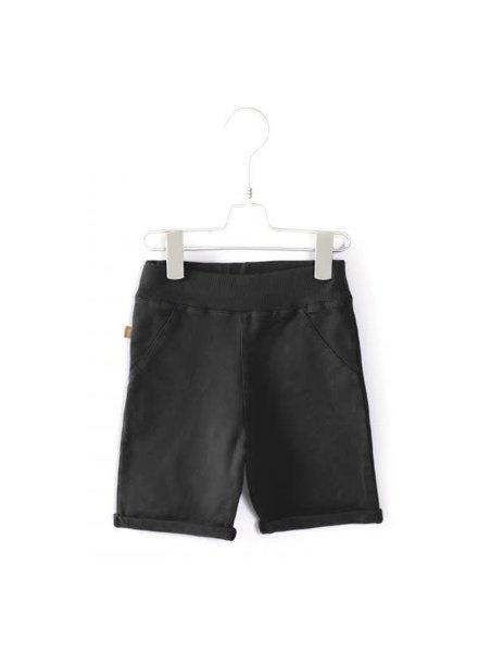 Lötiekids Bermuda Shorts Solid - Washed Black