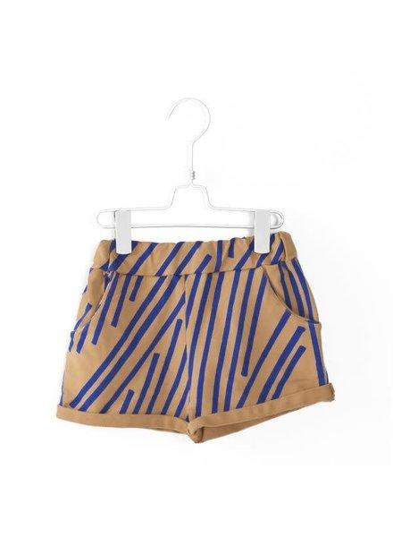 Lötiekids Oversize Short Stripes - Camel