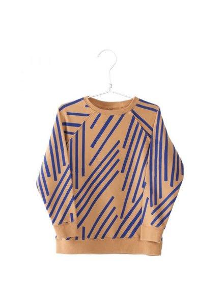 Lötiekids Sweatshirts Stripes - Camel