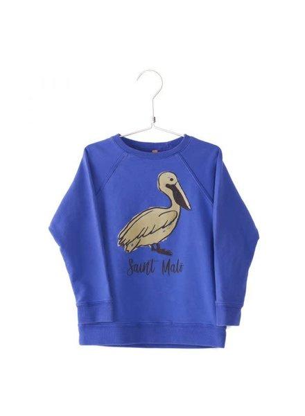 Lötiekids Sweatshirt Saint Malö + Pelican - Deep Blue