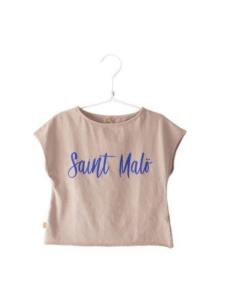 Lötiekids Oversize Tshirt Santa Malö - Old Pink