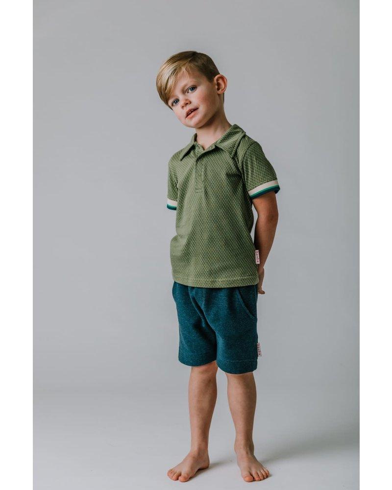 Baba Babywear Short pant - Jacquard Blue