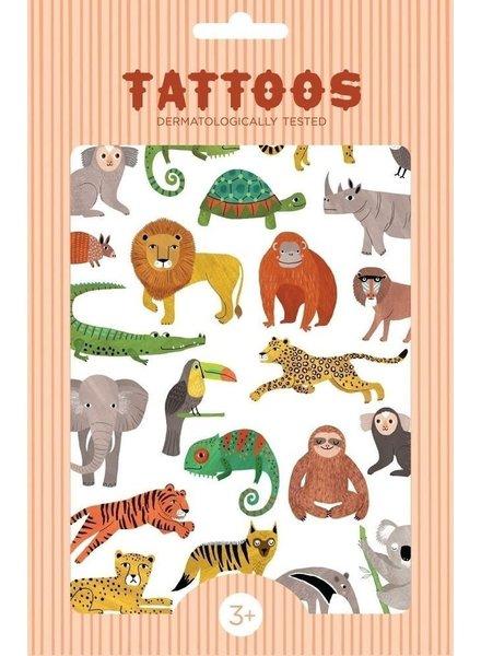 Petit Monkey Tattoos - Jungle Animals