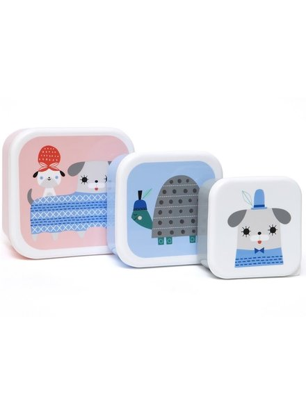 Petit Monkey Lunchbox Set - Peanut & Co