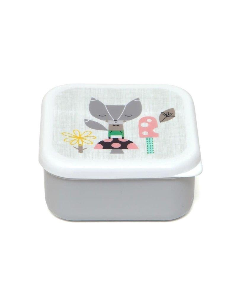 Petit Monkey Lunchbox Set - Lama & Friends