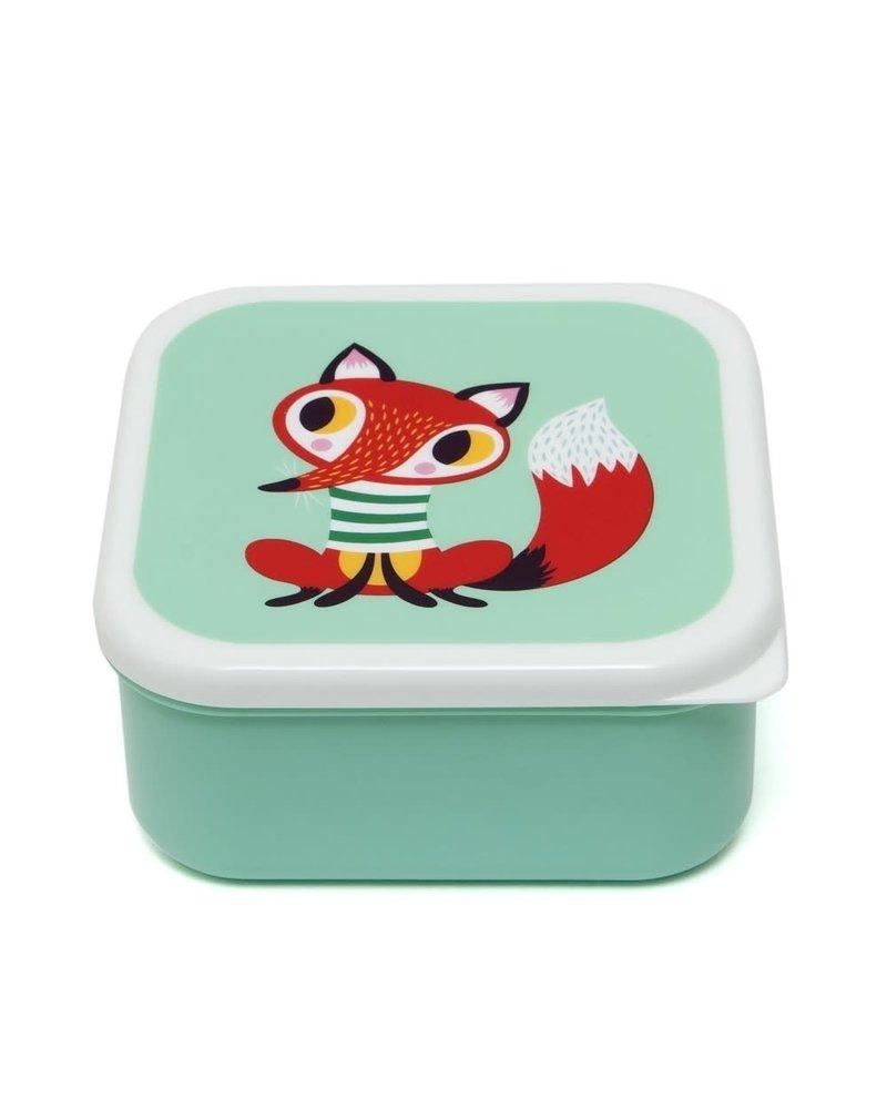 Petit Monkey Lunchbox Set - Animals