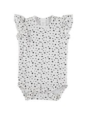 Beans Vernazza - Printed body - White