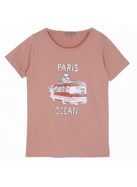 Emile et Ida T - Shirt - Terracota Bus
