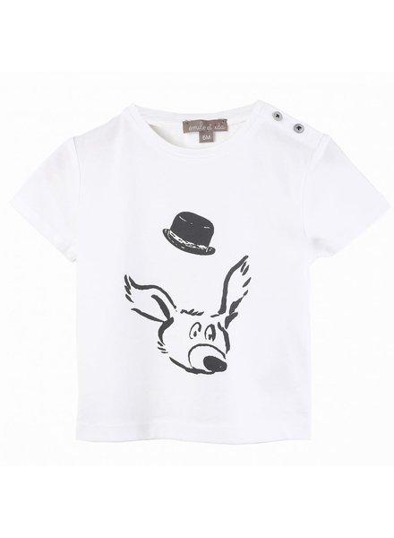 Emile et Ida T - Shirt - Ecru Visage