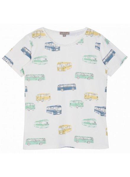 Emile et Ida T - Shirt - Ecru Bus