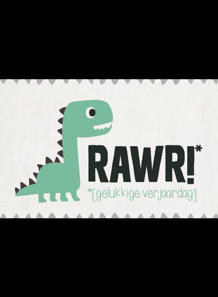 Leuke kaartjes Rawr!
