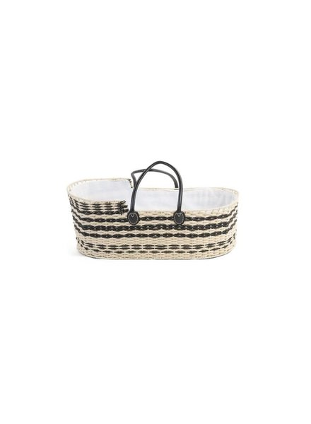Childhome Moses basket nat/ant + mattress