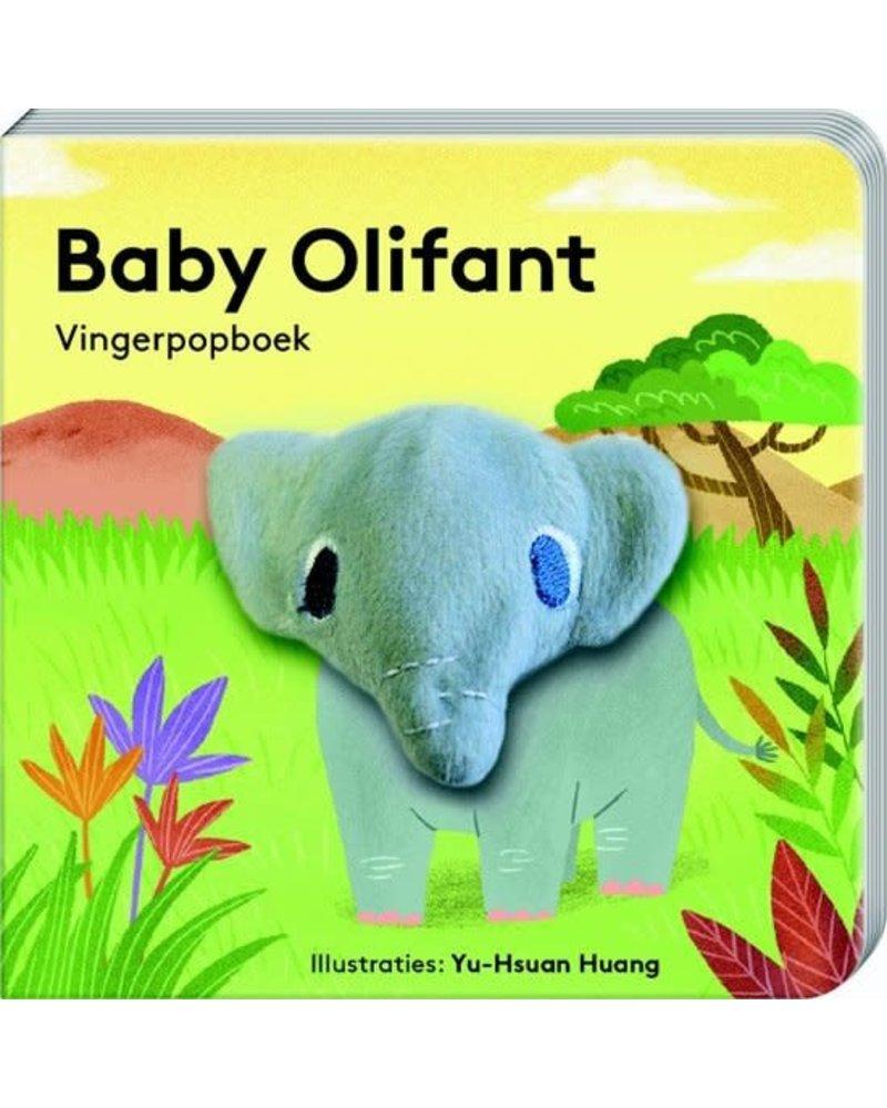 ImageBooks Vingerpopboekjes babydieren - Olifant