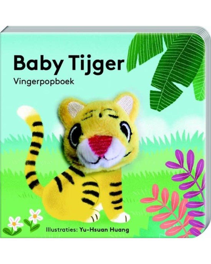 ImageBooks Vingerpopboekjes babydieren - Tijger