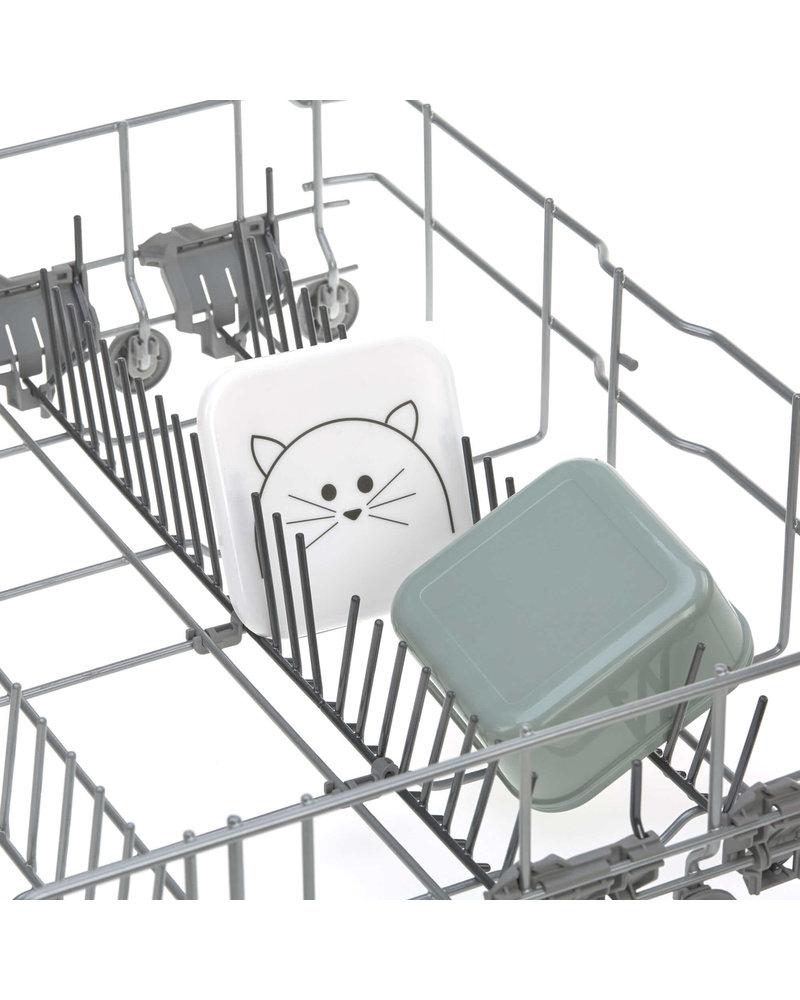 Lässig Snackbox 3pcs Assorted Little Chums Cat