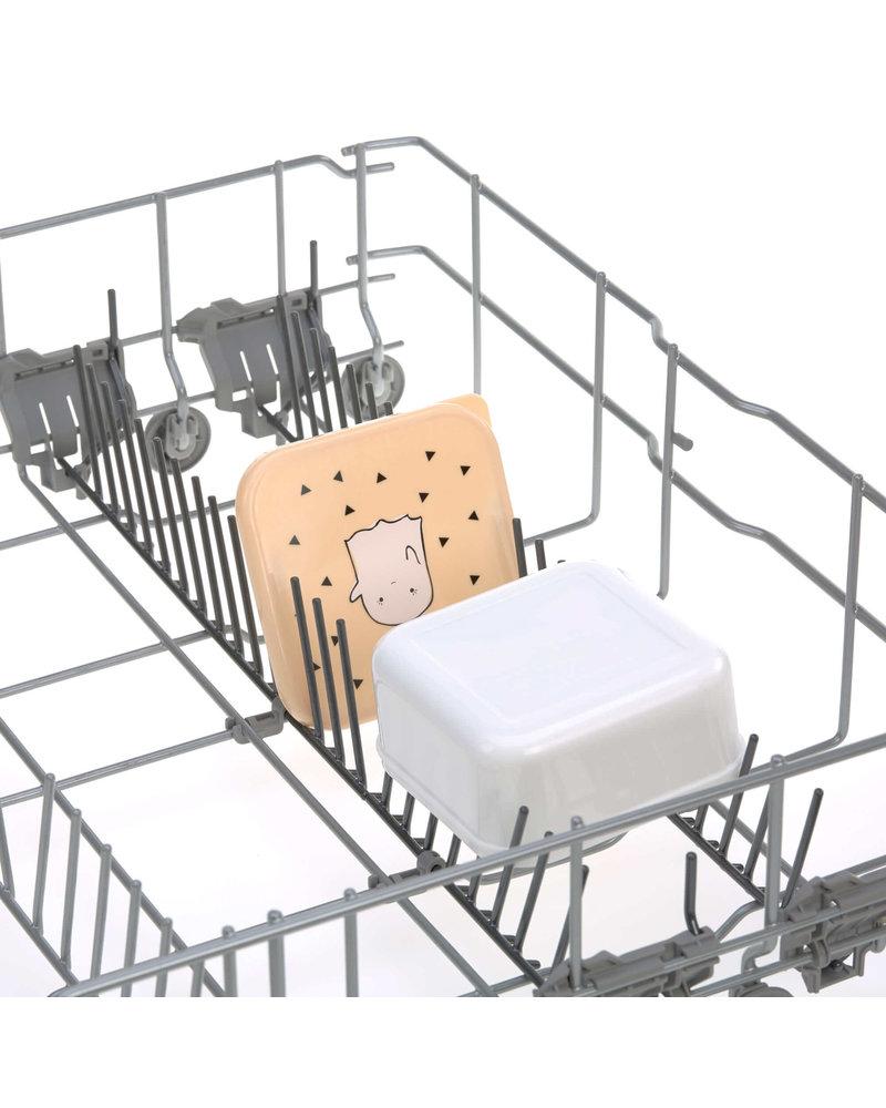 Lässig Snackbox 3pcs Assorted Little Spookies - Peach