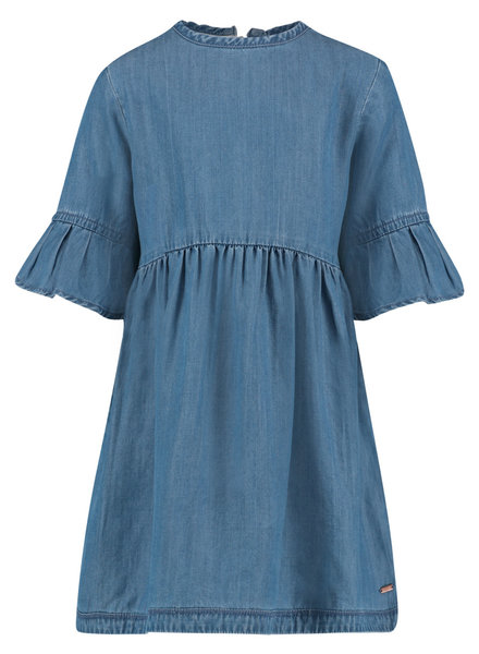 Noppies Dress zip Putnam - Light Blue Wash
