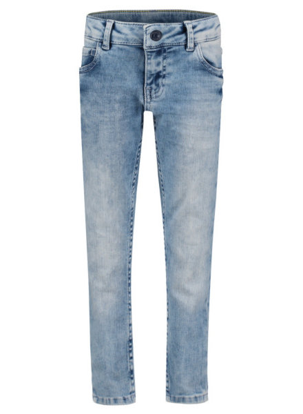 Noppies Denim pants slim Royal oak 5p - Light Distress Wash