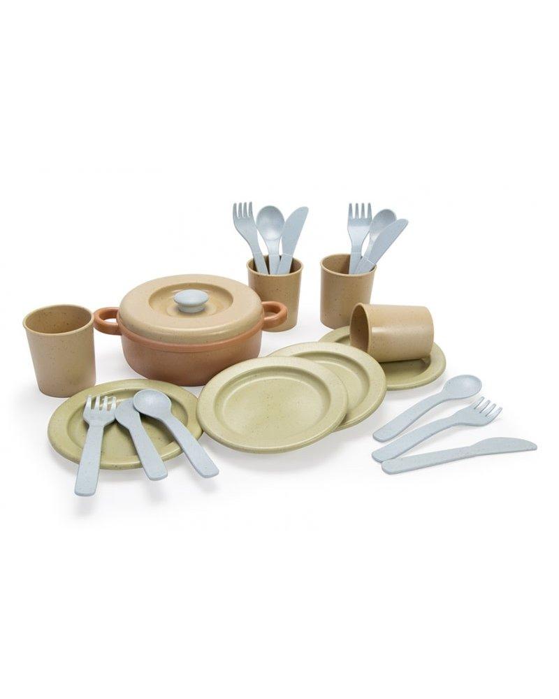 Dantoy BIOplastic eetset (22-delig)