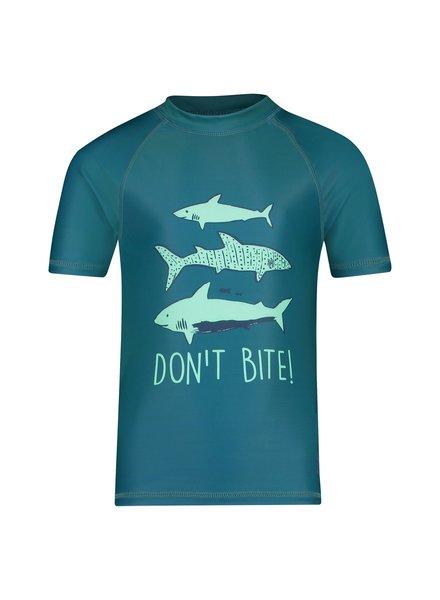 Shiwi Boy Rash Tee - Shark