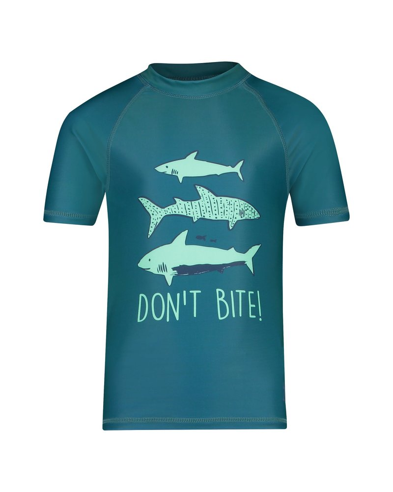Shiwi Boy Rash Tee - Shark