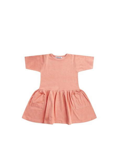 Mingo Dress - Peach Pink