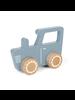 Little Dutch Tractor Hout - Blue