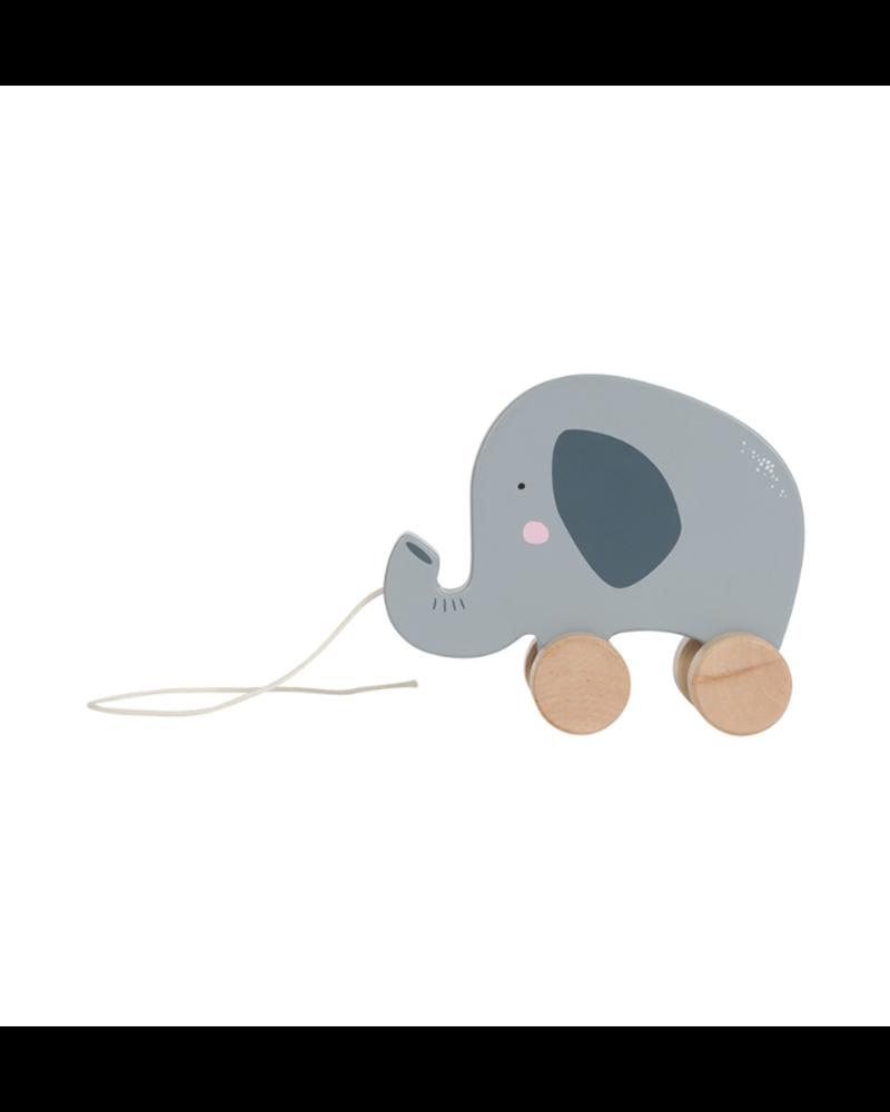 Little Dutch Houten Trekdier - Olifant