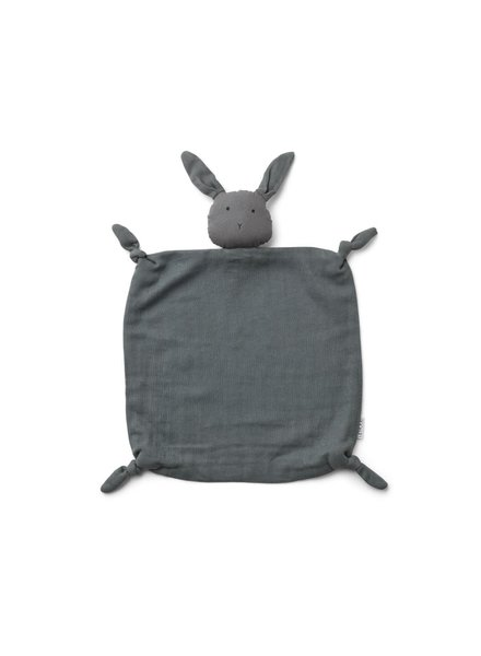 Liewood Agnete Cuddle Cloth - Rabbit Stone Grey