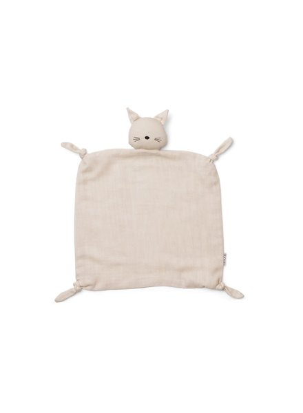 Liewood Agnete Cuddle Cloth - Cat Beige Beauty