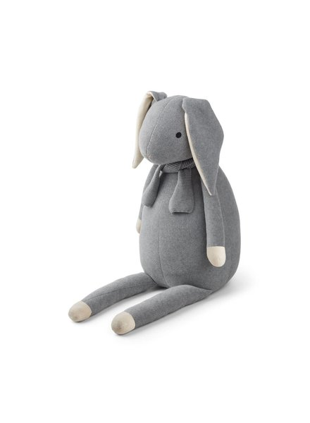 Liewood Kathlin Knit Teddy - Rabbit Grey Melange