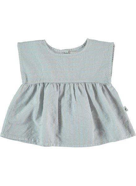My Little Cozmo Brisa - Shirt Lurex Stripes - Lightgrey