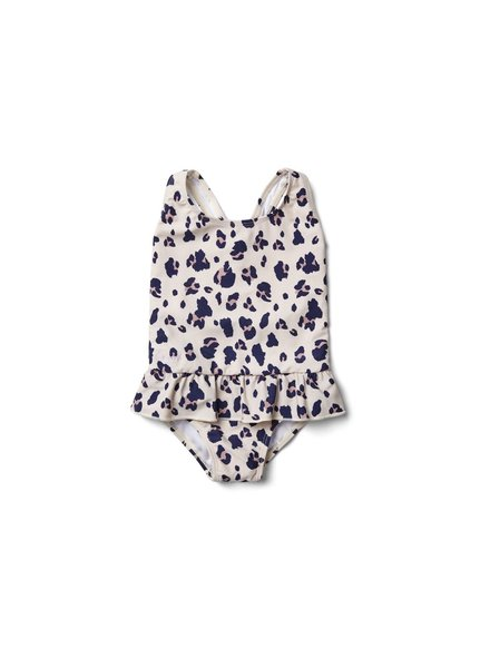 Liewood Amara Swimsuit - Leo Beige Beauty