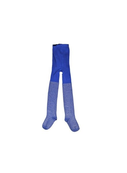 Baba Babywear Broekkousen blauw lurex - maat 68