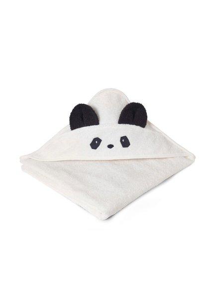 Liewood Augusta Hooded Towel - Panda Creme De La Creme