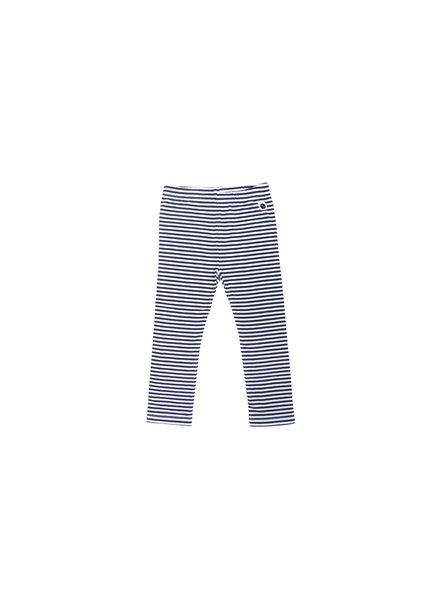 Sproet & Sprout Legging Navy Stripe - Maat  50-56