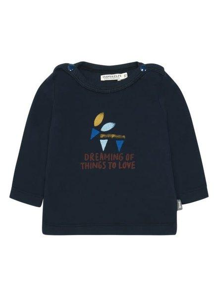 Imps & Elfs T-Shirt Long Sleeve - Workers blue