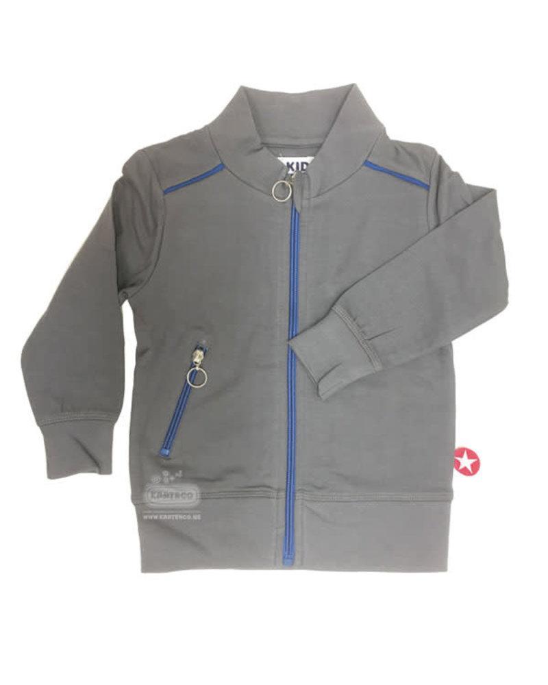 Kik Kid Vest French Knit Grey