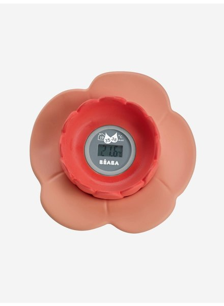 """Beaba Digitale badthermometer """"Lotus"""" koraal"""