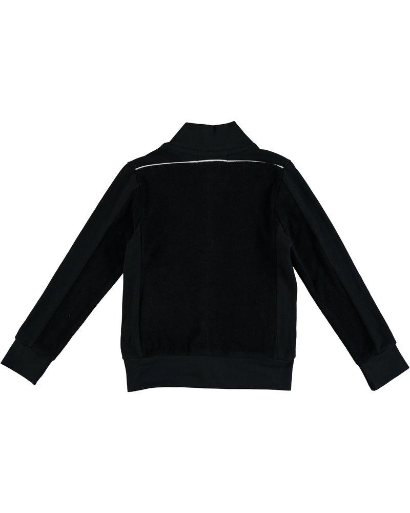 Kik Kid Vest Met Rits Zwart