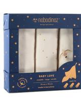 Nobodinoz Babylovebox swaddles 70x70