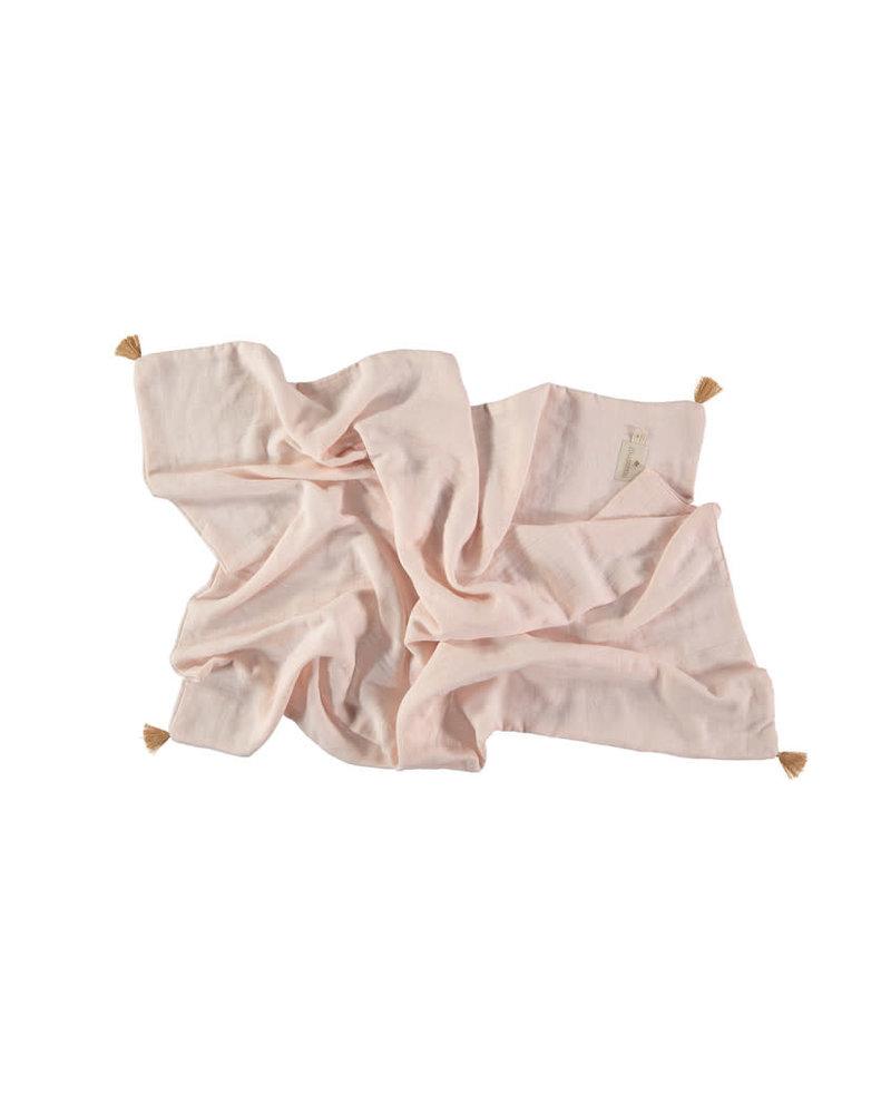 Nobodinoz Treasure summer blanket - dream pink