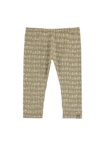 Imps & Elfs Legging Food Coton Bio - Kaki - Maat 62